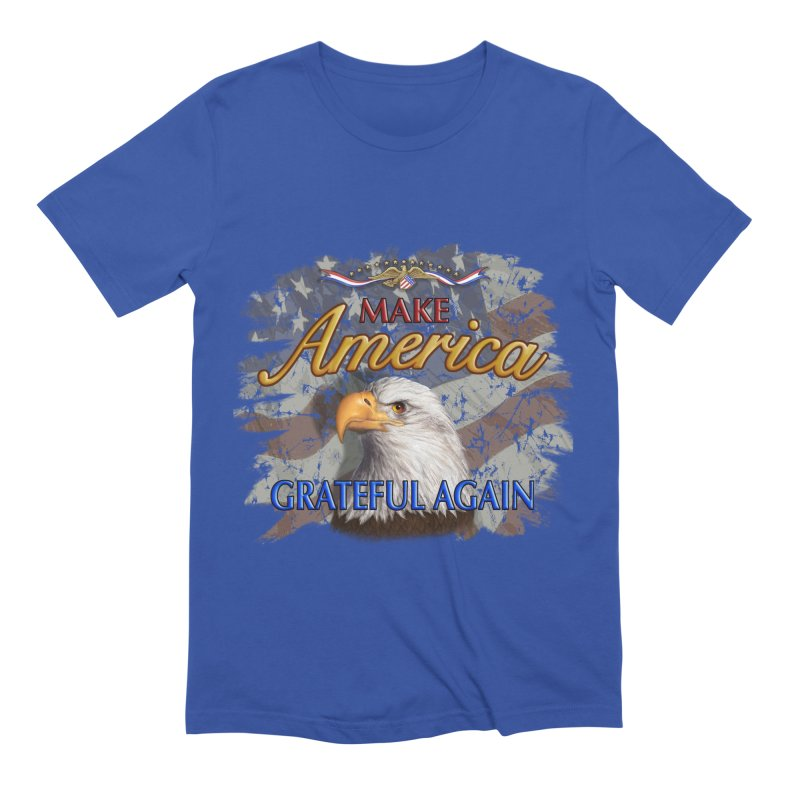 Make America Grateful Again Men's Extra Soft T-Shirt by richgrote's Shop