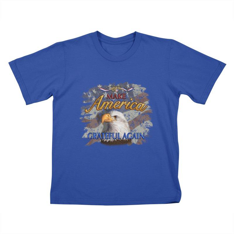 Make America Grateful Again Kids T-Shirt by richgrote's Shop