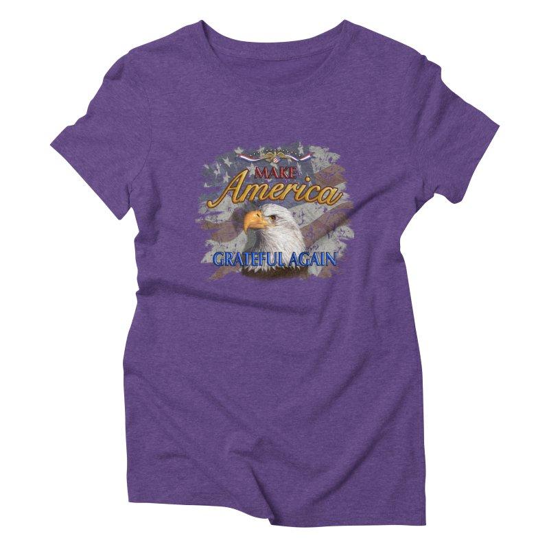 Make America Grateful Again Women's Triblend T-Shirt by richgrote's Shop