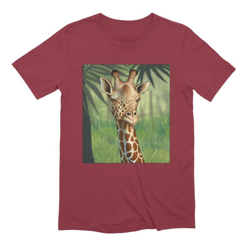 giraffe Men's Extra Soft T-Shirt by richgrote's Shop