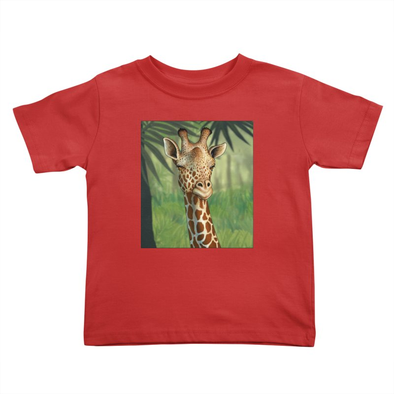giraffe Kids Toddler T-Shirt by richgrote's Shop
