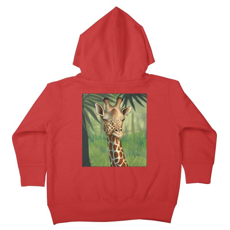 giraffe Kids Toddler Zip-Up Hoody by richgrote's Shop