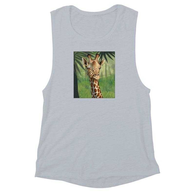 giraffe Women's Muscle Tank by richgrote's Shop