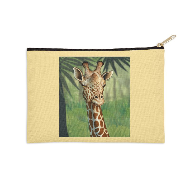 giraffe Accessories Zip Pouch by richgrote's Shop