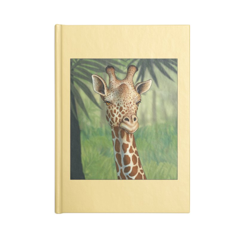 giraffe Accessories Notebook by richgrote's Shop