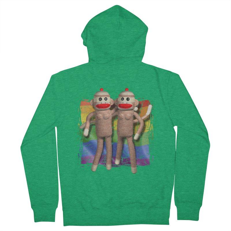 Girl Pride Men's Zip-Up Hoody by richgrote's Shop