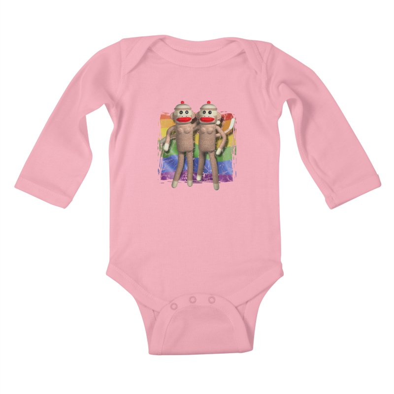 Girl Pride Kids Baby Longsleeve Bodysuit by richgrote's Shop