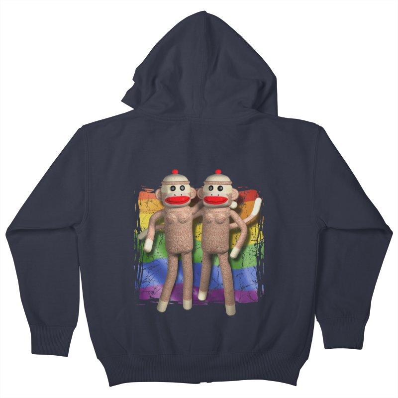 Girl Pride Kids Zip-Up Hoody by richgrote's Shop
