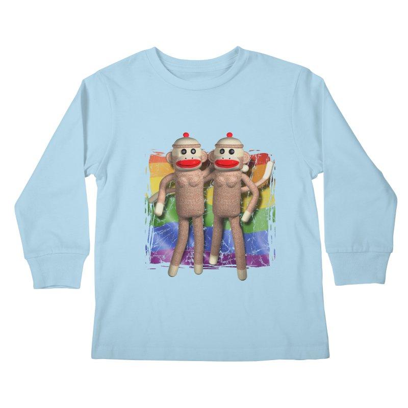 Girl Pride Kids Longsleeve T-Shirt by richgrote's Shop