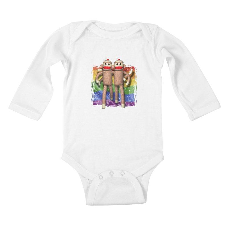 Guy Pride Kids Baby Longsleeve Bodysuit by richgrote's Shop