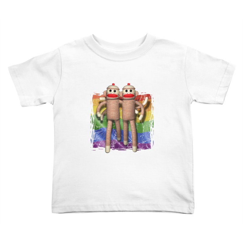 Guy Pride Kids Toddler T-Shirt by richgrote's Shop
