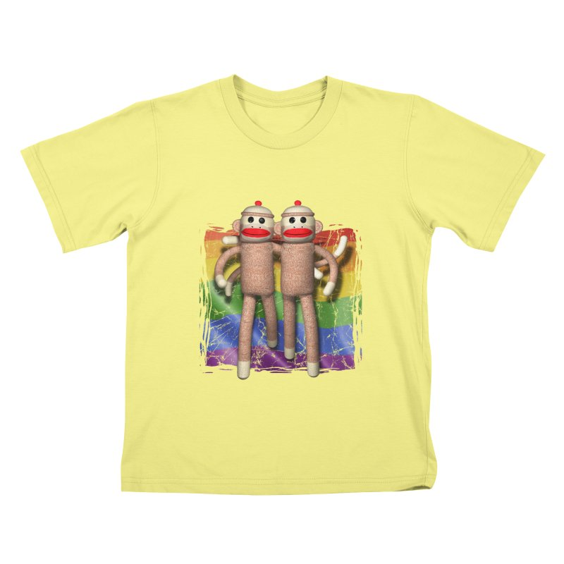 Guy Pride Kids T-shirt by richgrote's Shop