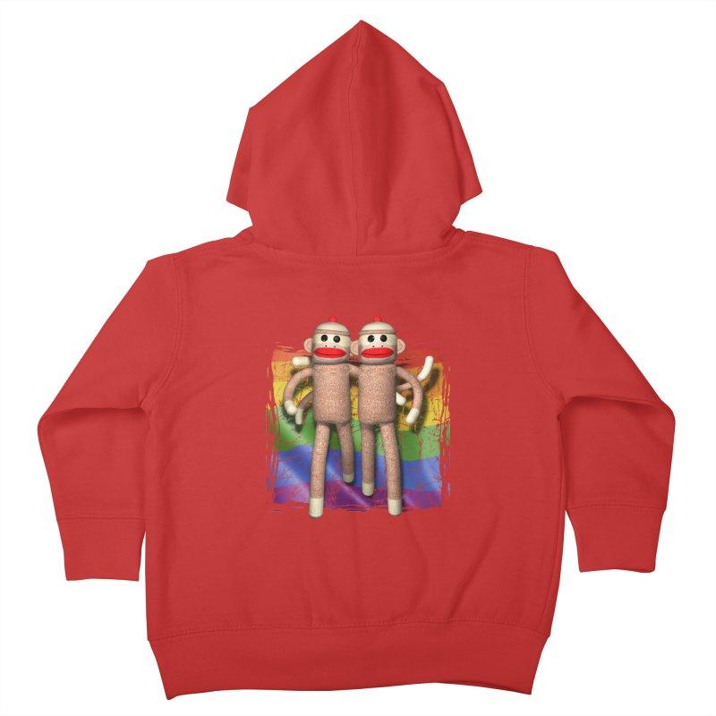Guy Pride Kids Toddler Zip-Up Hoody by richgrote's Shop