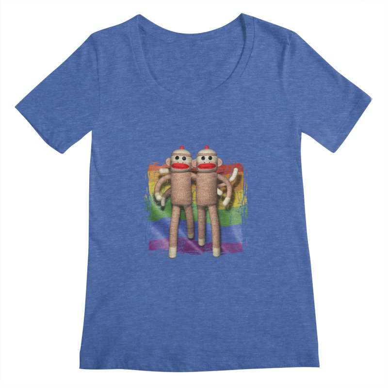 Guy Pride Women's Scoopneck by richgrote's Shop