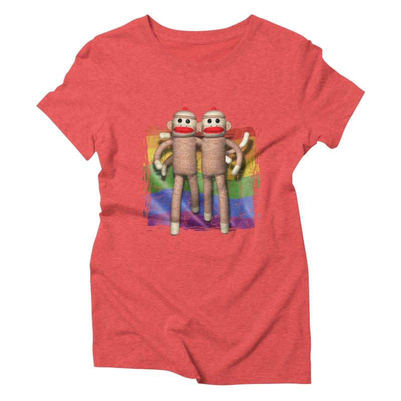 Guy Pride Women's Triblend T-shirt by richgrote's Shop