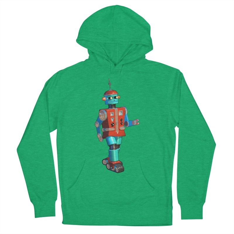 Robot Happiness Women's Pullover Hoody by richgrote's Shop