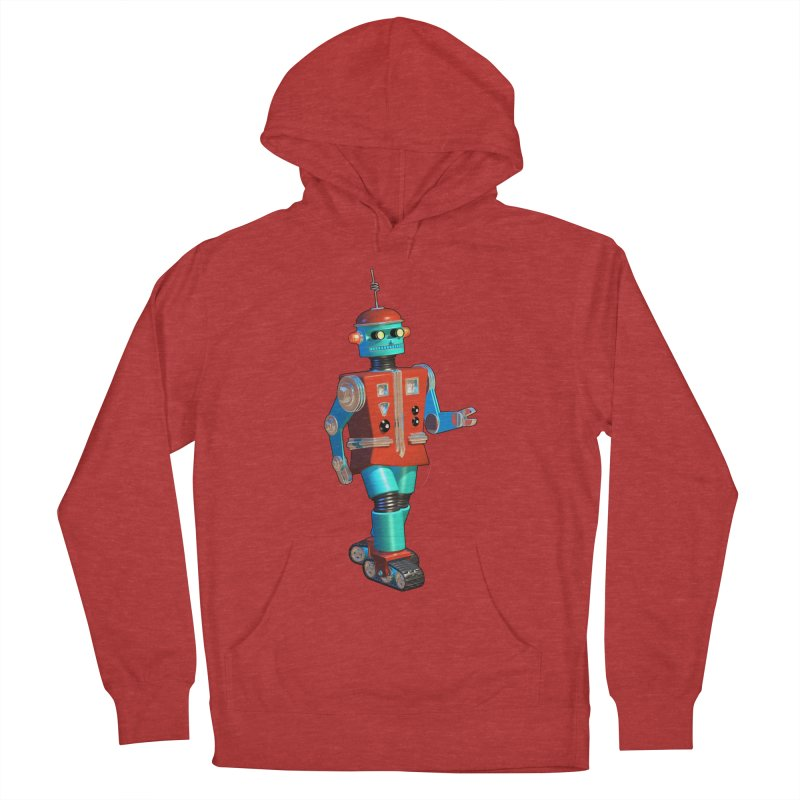 Robot Happiness Men's Pullover Hoody by richgrote's Shop