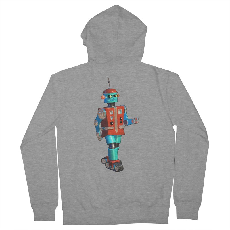 Robot Happiness Women's Zip-Up Hoody by richgrote's Shop