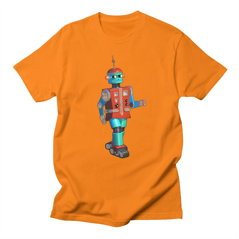Robot Happiness Men's T-Shirt by richgrote's Shop