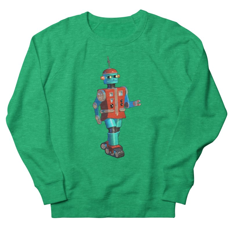 Robot Happiness Women's Sweatshirt by richgrote's Shop