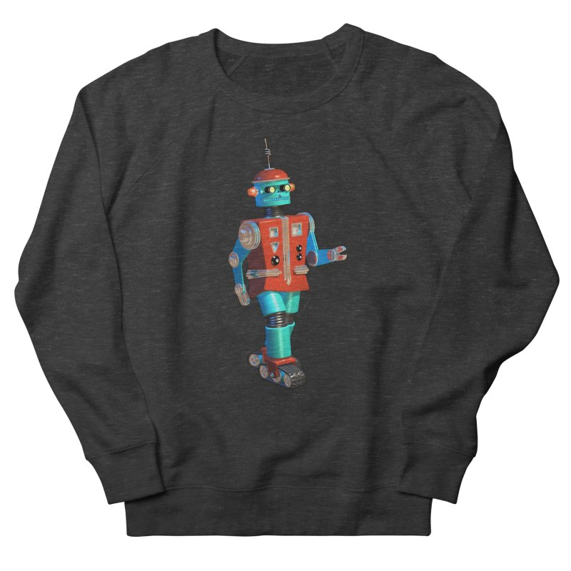 Robot Happiness Women's French Terry Sweatshirt by richgrote's Shop