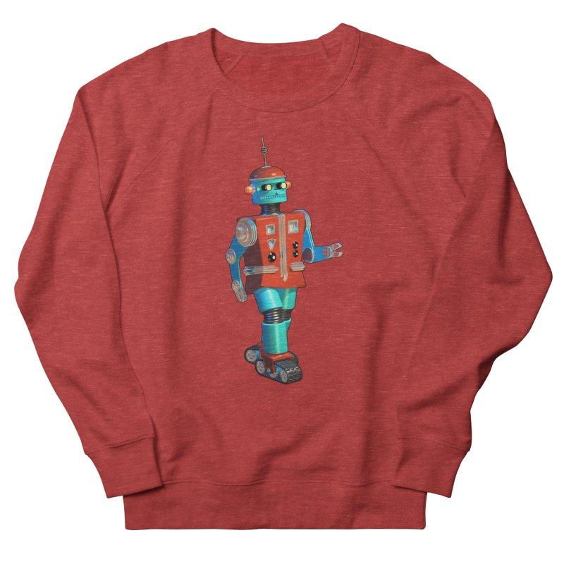 Robot Happiness Men's Sweatshirt by richgrote's Shop