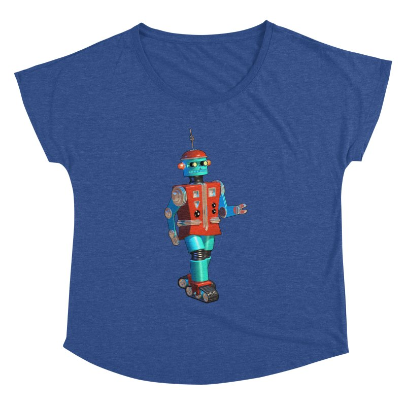 Robot Happiness Women's Dolman by richgrote's Shop