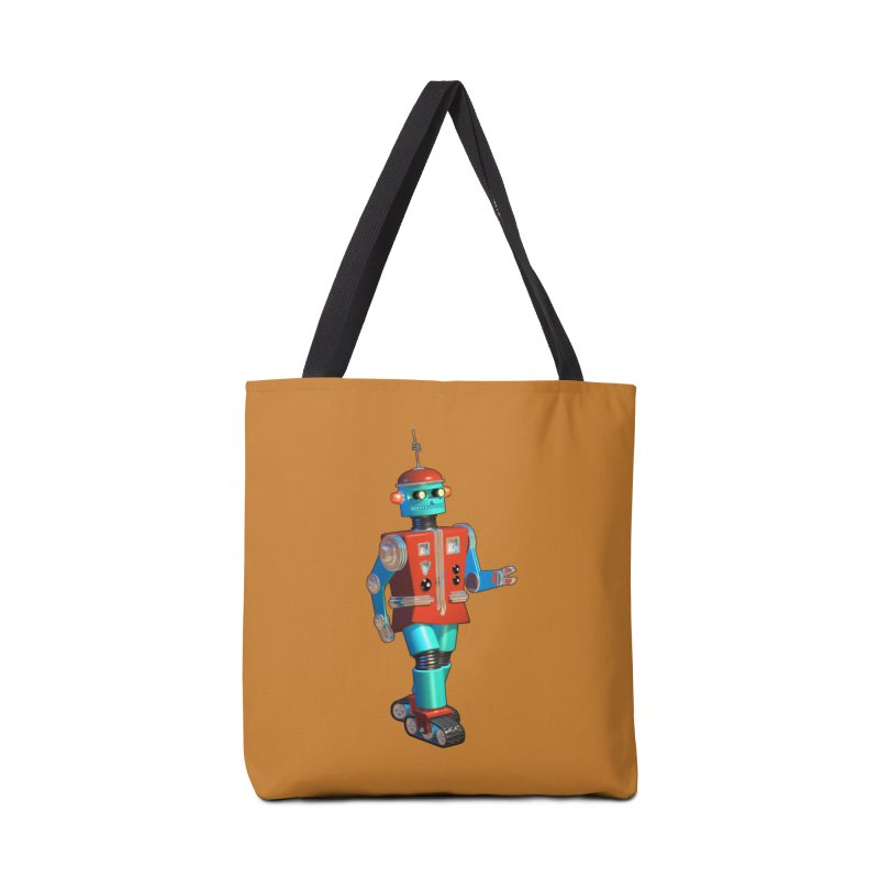 Robot Happiness Accessories Bag by richgrote's Shop