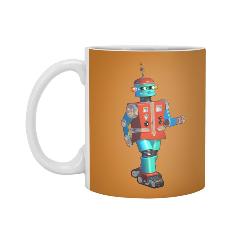 Robot Happiness Accessories Mug by richgrote's Shop