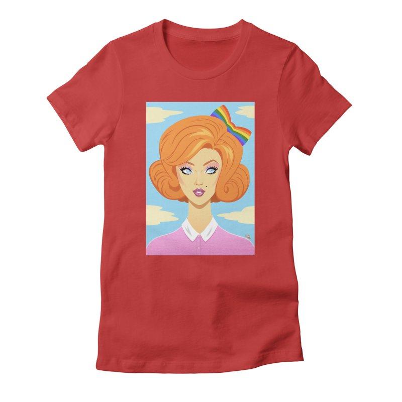 Rainbow Women's T-Shirt by richierick's Artist Shop