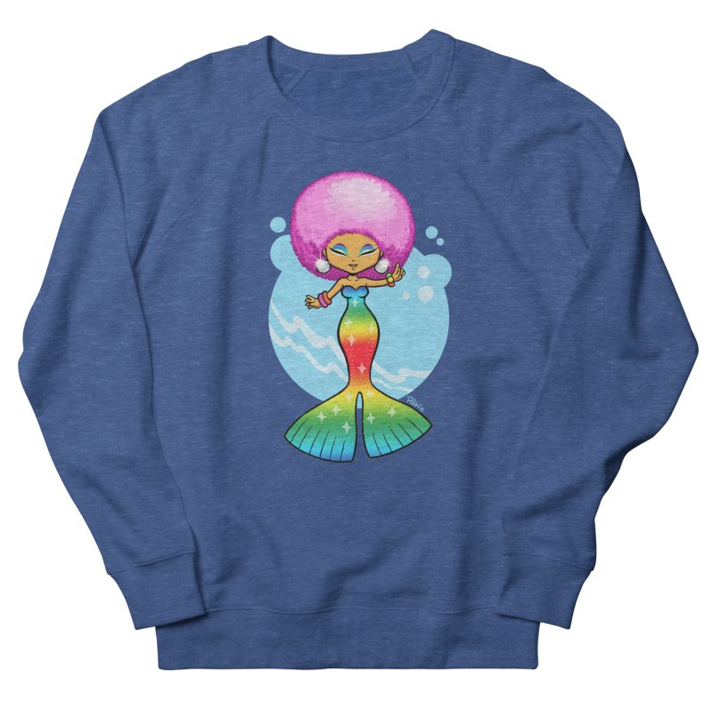 Deep Sea Diva Men's Sweatshirt by richierick's Artist Shop
