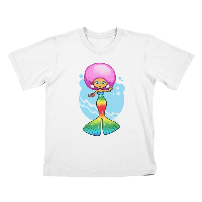 Deep Sea Diva Kids T-Shirt by richierick's Artist Shop