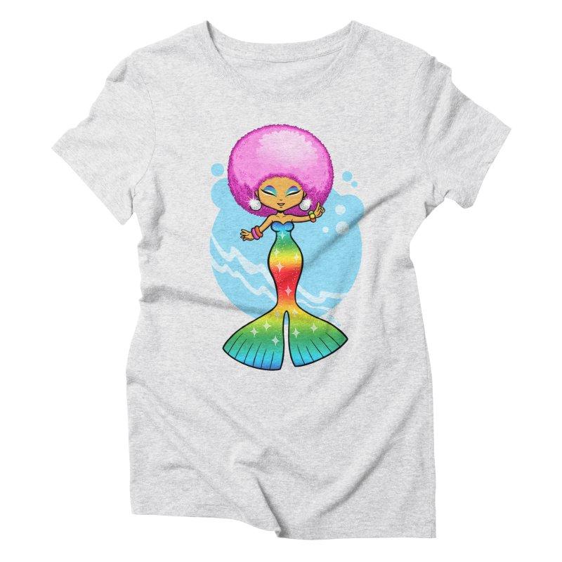 Deep Sea Diva Women's T-Shirt by richierick's Artist Shop