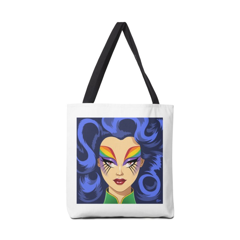 Iris Accessories Bag by richierick's Artist Shop