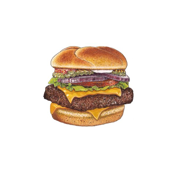 image for cheeseburger