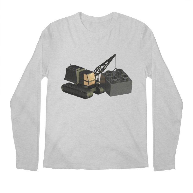 Lego Construction Men's Longsleeve T-Shirt by Rickard Arvius