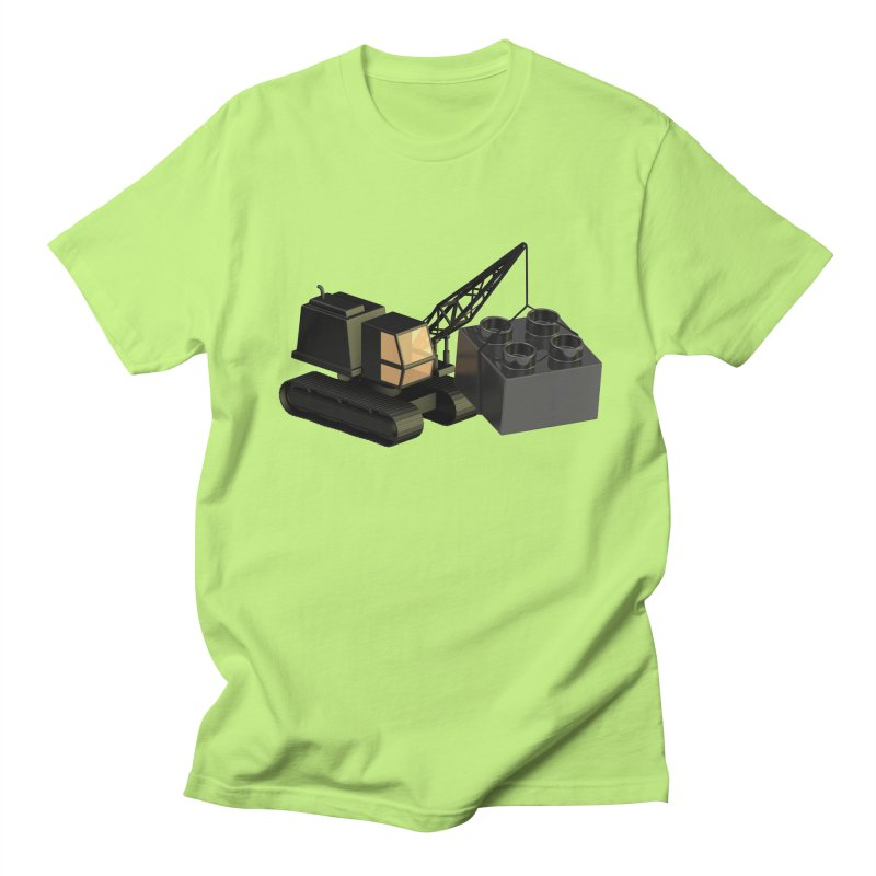 Lego Construction Men's T-Shirt by Rickard Arvius