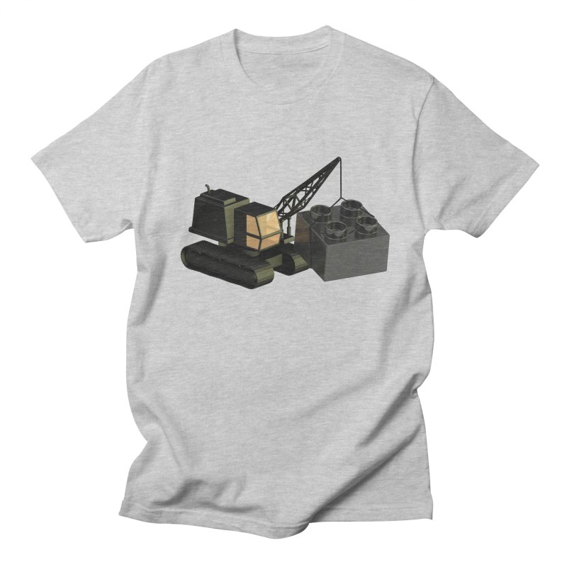Lego Construction Men's T-Shirt by Rickard Arvius