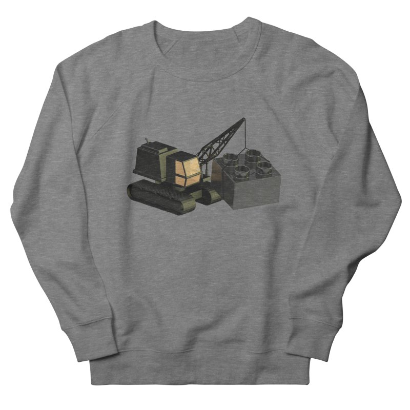 Lego Construction Men's Sweatshirt by Rickard Arvius