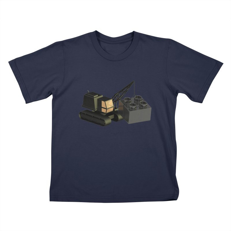 Lego Construction Kids T-Shirt by Rickard Arvius