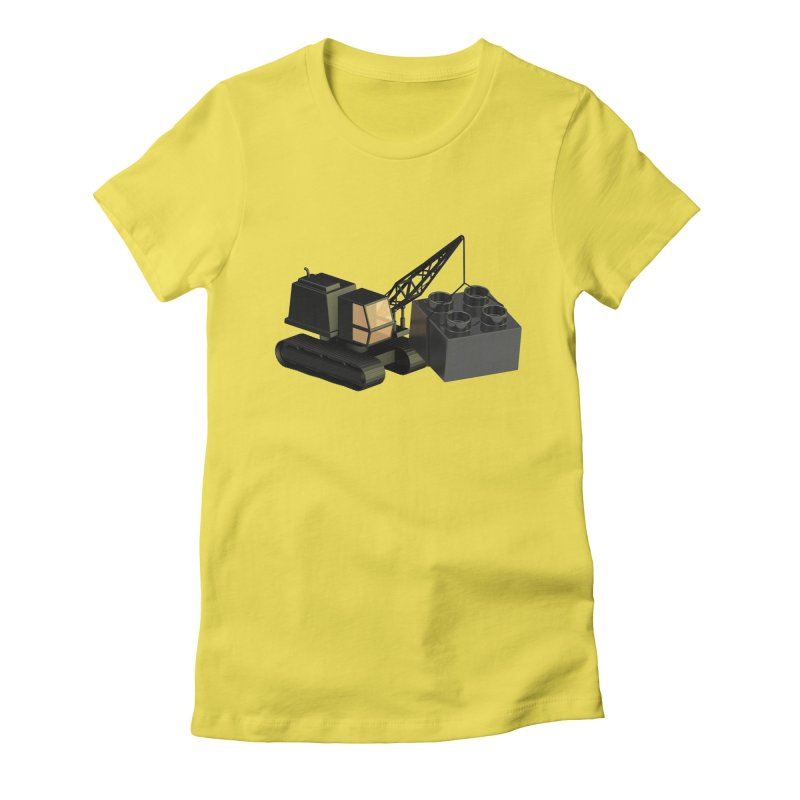 Lego Construction Women's T-Shirt by Rickard Arvius