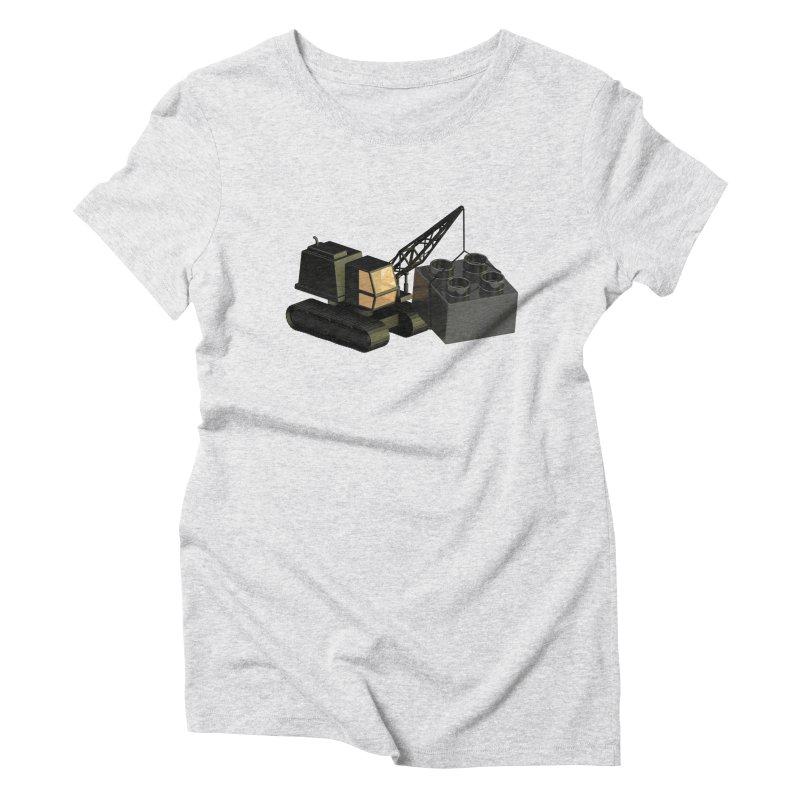 Lego Construction Women's T-Shirt by Rickard Arvius