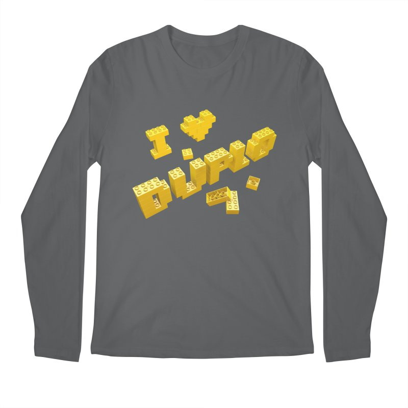 Duplo Love Men's Longsleeve T-Shirt by Rickard Arvius