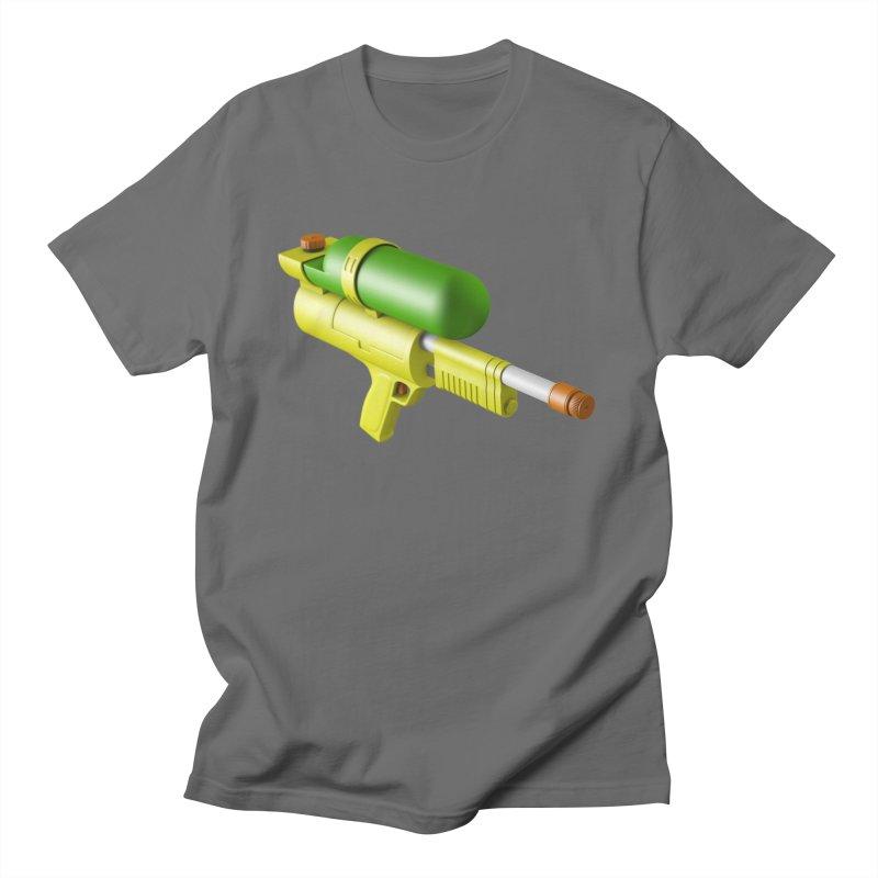 Water Gun Men's T-Shirt by Rickard Arvius