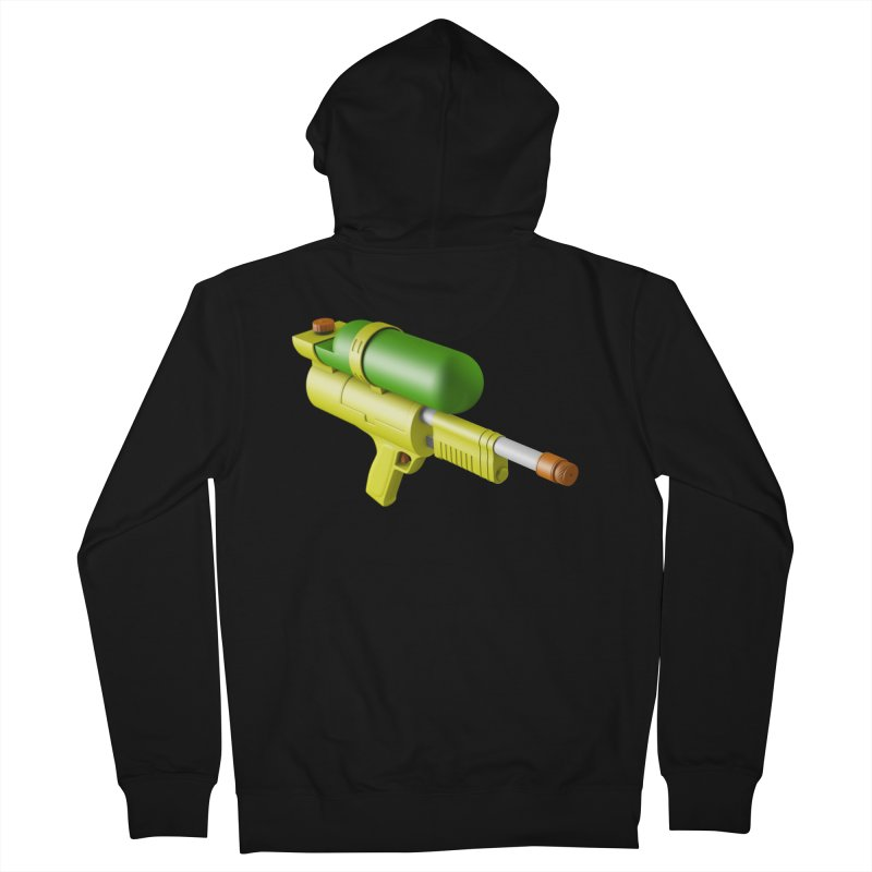 Water Gun Men's Zip-Up Hoody by Rickard Arvius