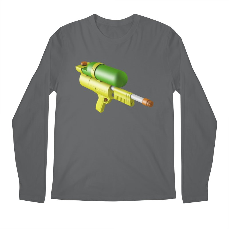 Water Gun Men's Longsleeve T-Shirt by Rickard Arvius
