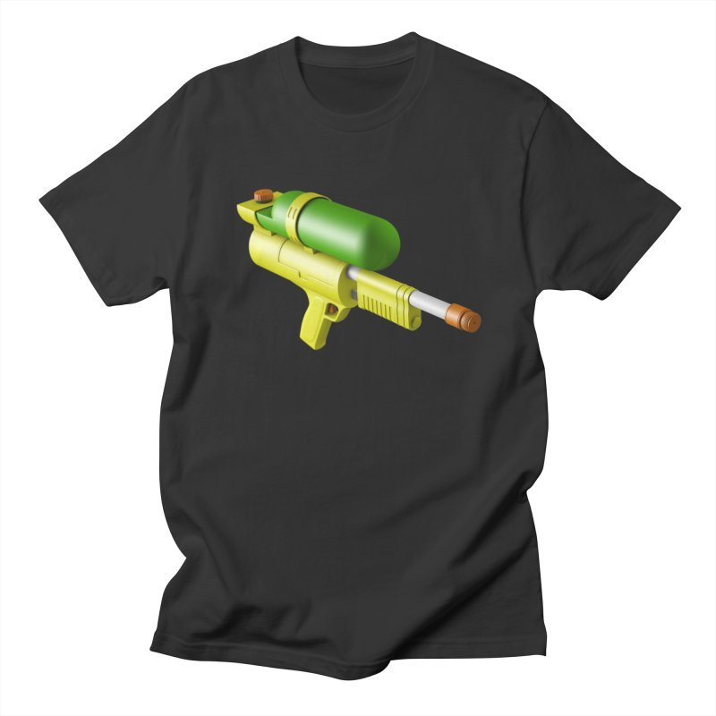 Water Gun Men's T-Shirt by Rickard Arvius