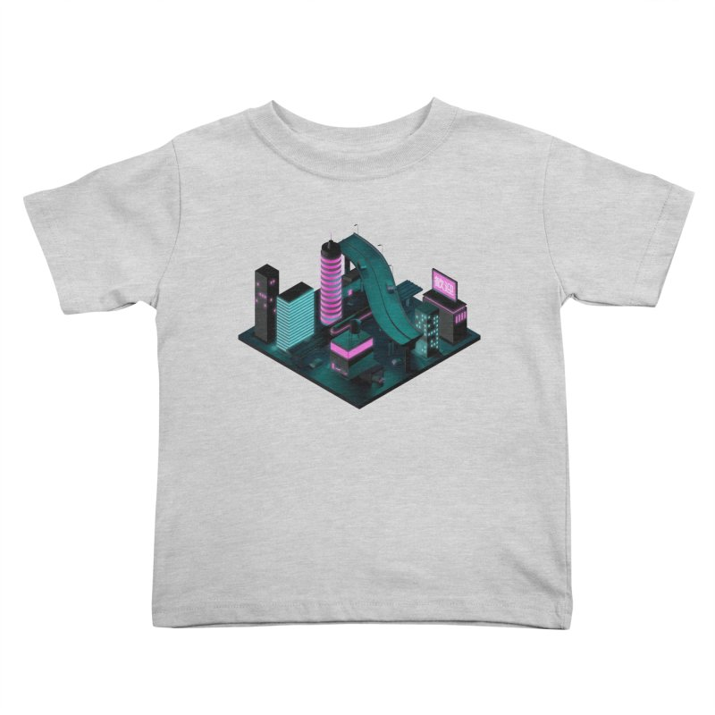 Nippon 2061 Kids Toddler T-Shirt by Rickard Arvius