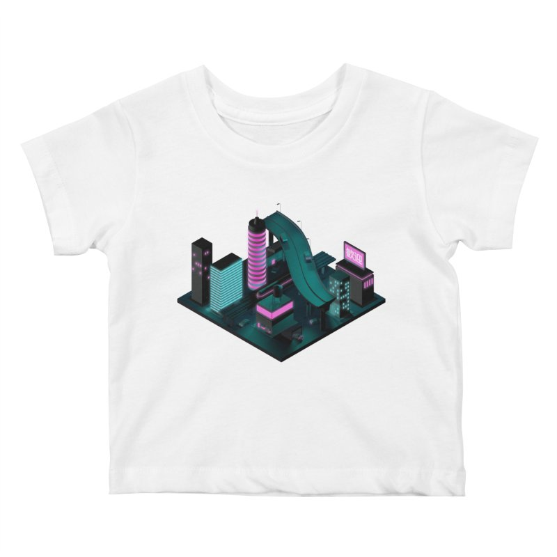 Nippon 2061 Kids Baby T-Shirt by Rickard Arvius