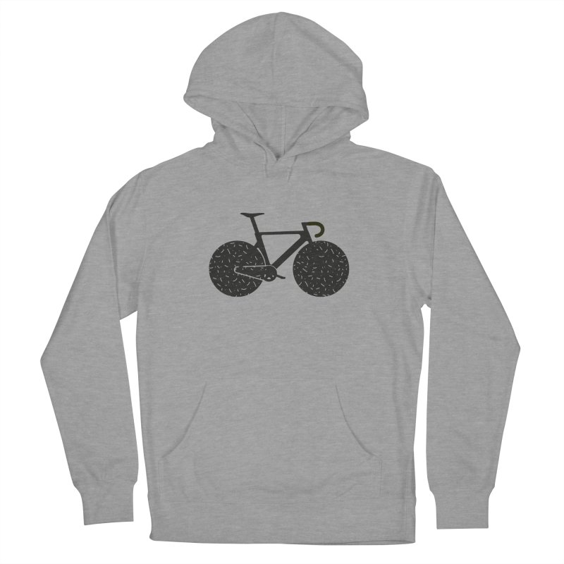 Track Bike Men's Pullover Hoody by Rickard Arvius